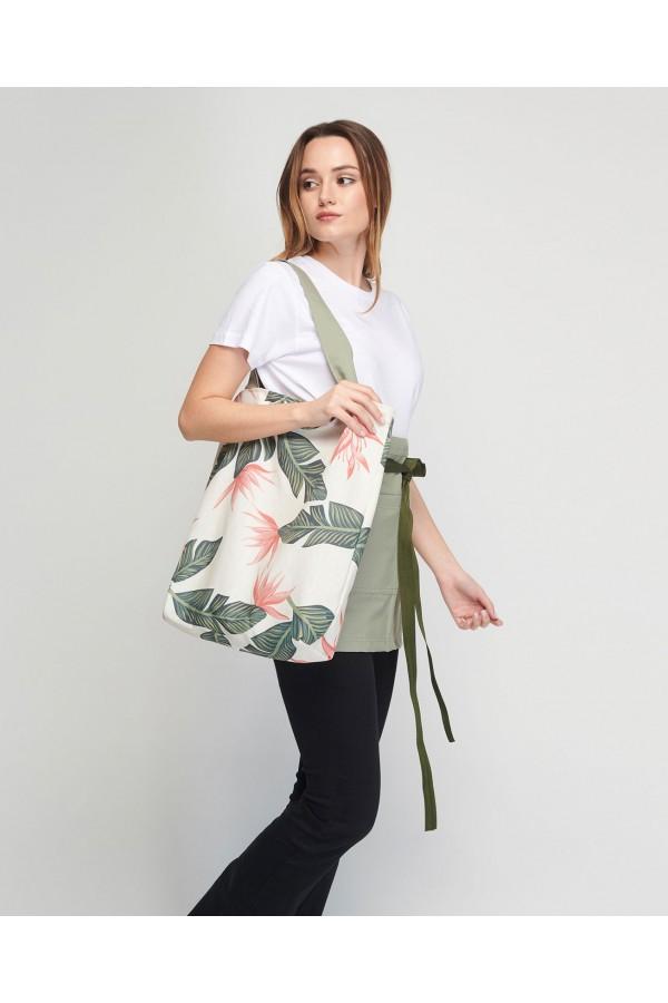 Shopping Bag Spring Με εσωτερική τσέπη