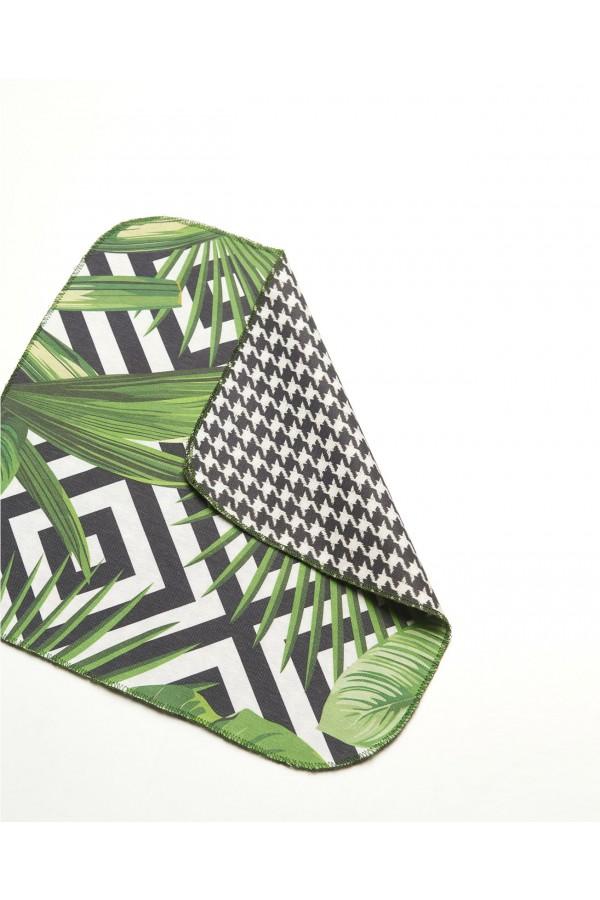 Σουπλά/Πετσέτα Σερβιτόρου Διπλής Όψεως Jungle